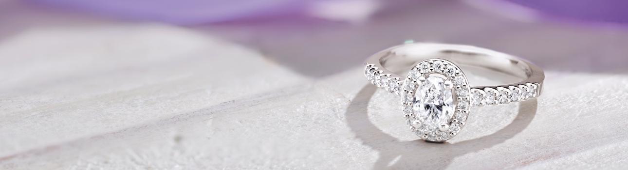 Beaverbrooks' diamond engagement ring