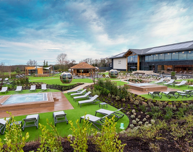 The Spa at Carden Park outdoor facilities