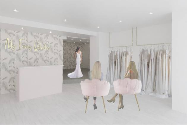 artist's impression of new boutique