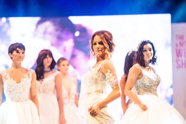 Catwalk show at The North West Wedding Show