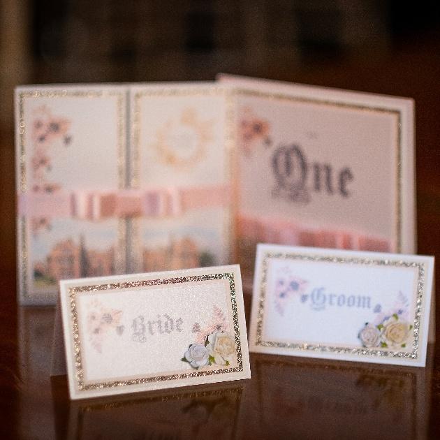 theme fitting wedding stationery