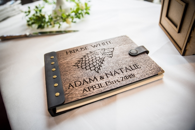 Game of thrones guest book