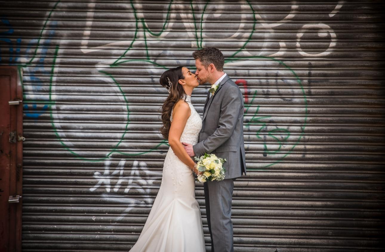 Grafitti on shutters